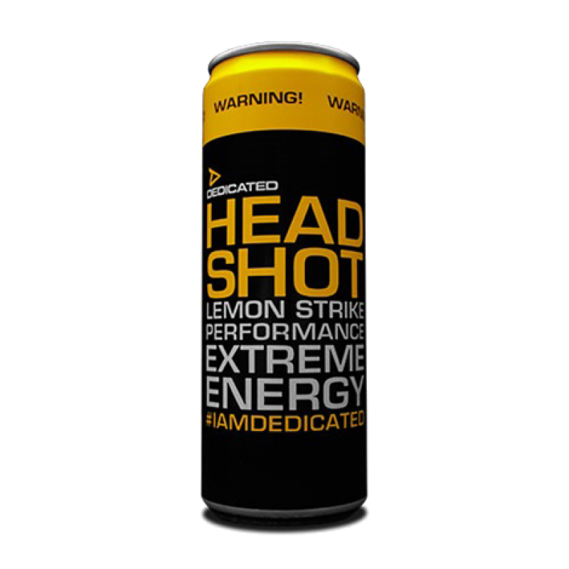 Dedicated Headshot Energy Drink 310ml, 2,00 €, KÖRPERKULT | Fitn