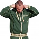 "BRACHIAL Zip Hoodie ""Spacy"" military green"