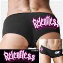 Booty Shortie Monsta Relentless black L