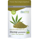 Hemp Protein 100% raw Powder 300g