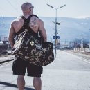 KÖRPERKULT Gym Bag XL camo