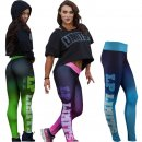 "Leggings ""Neon"" blue"