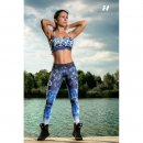 "Leggins ""ART"" 882 blau"