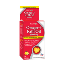 Omega-3 Krill Oil  1000mg  30 Softgels