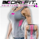 "Racerback Monsta Dri-Fit ""Back Stripe"" grey/pink"