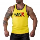 Ribbed Tank-Top MNX gelb L