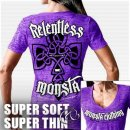 "Shirt Supersoft Monsta ""Relentless Monsta"" purple"