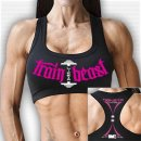 Sport Bra Monsta Tain Like a Beast black S