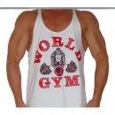 "Tank Top Stringer ""World Gym"""