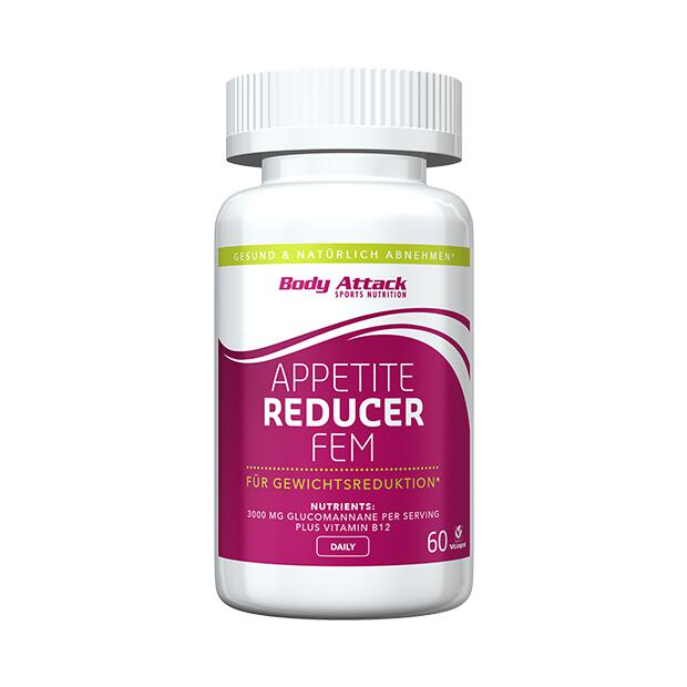 BODY ATTACK Appetite Reducer FEM 60 Caps