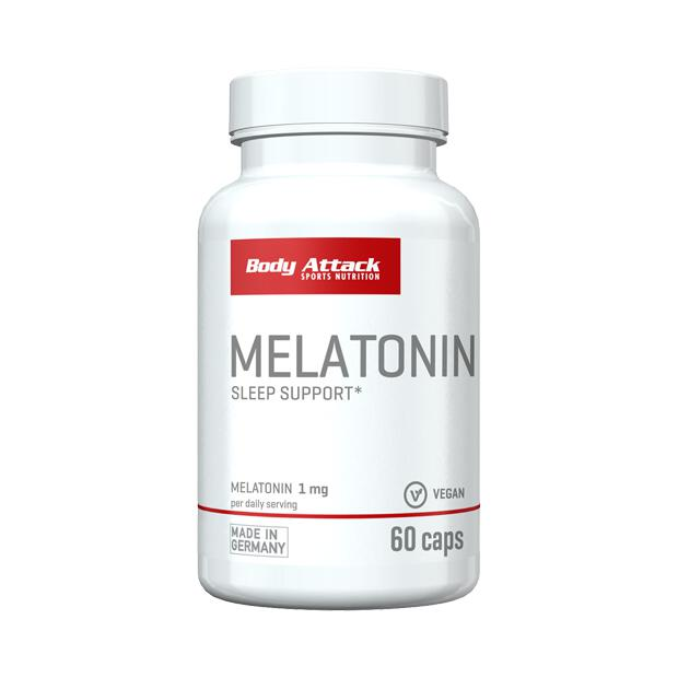 BODY ATTACK Melatonin 60 Caps
