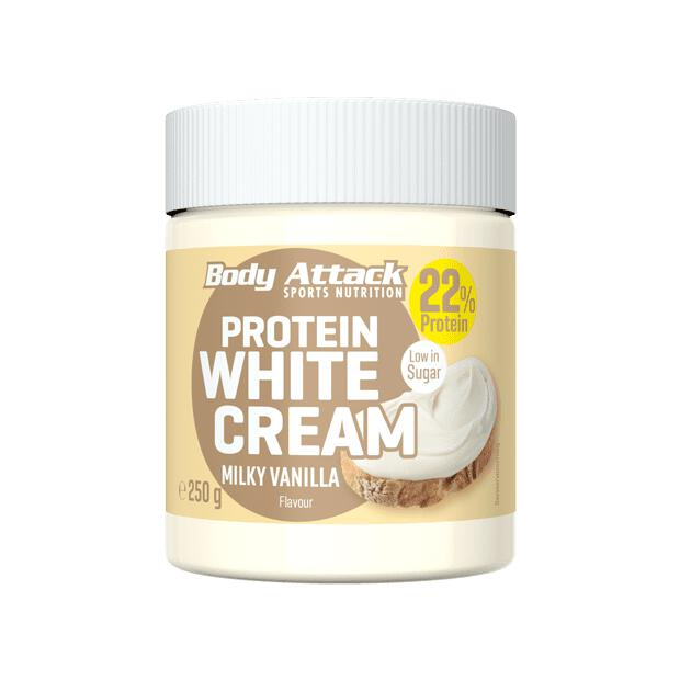 BODY ATTACK Protein White Cream Milky Vanilla 250g