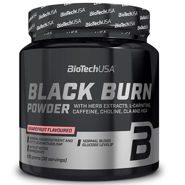 BioTechUSA Black Burn 210g