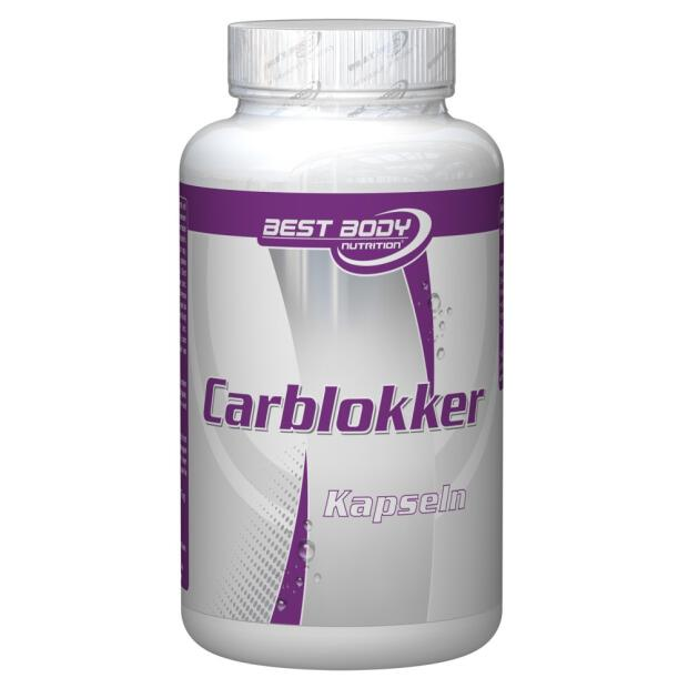 BEST BODY Carblokker 100 Caps