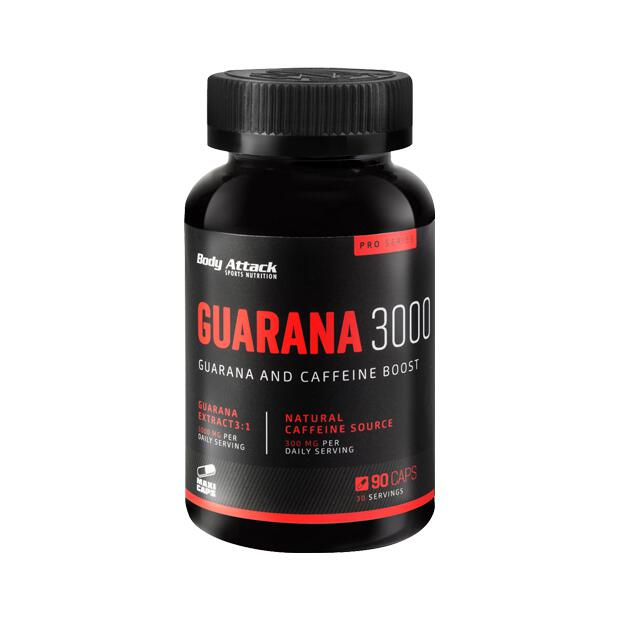 BODY ATTACK Guarana 3000 90 Caps
