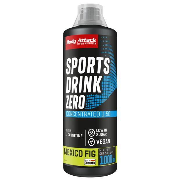 BODY ATTACK Low Carb Sports Drink (Mineral Drink) 1000ml
