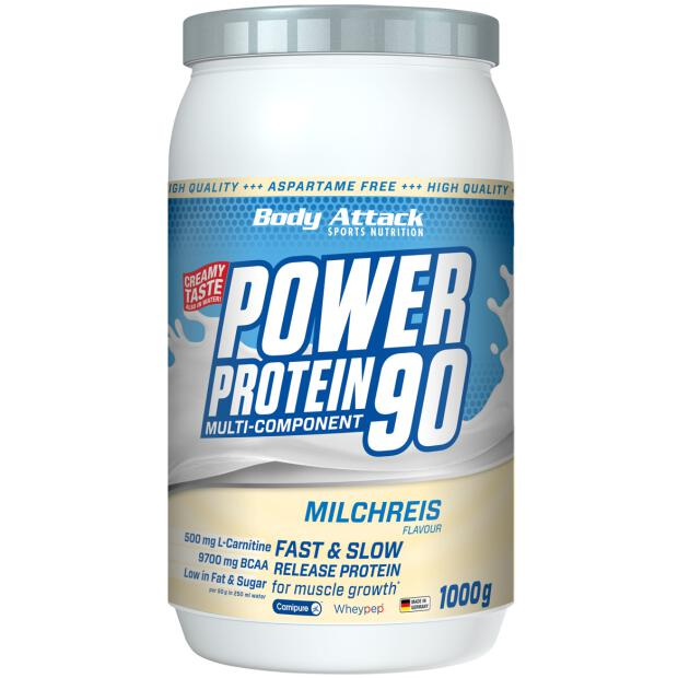 BODY ATTACK Power Protein 90 1000g