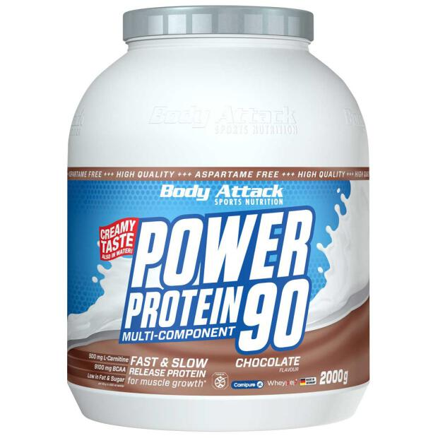 BODY ATTACK Power Protein 90 2000g