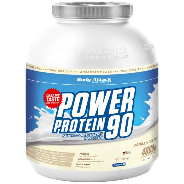 BODY ATTACK Power Protein 90 4000g