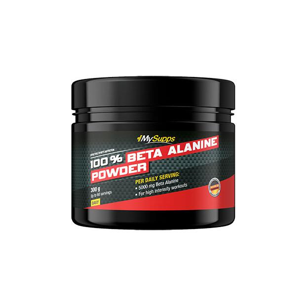 MY SUPPS 100% Beta Alanine 300g