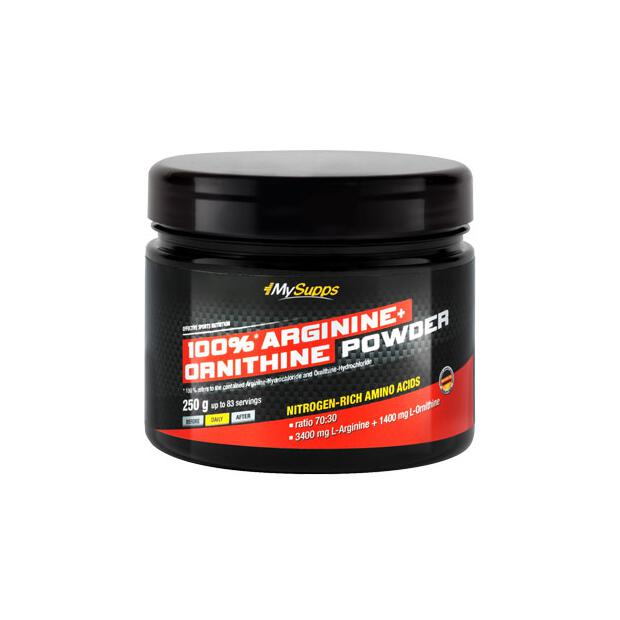 MY SUPPS Arginine + Ornithine Powder 250g