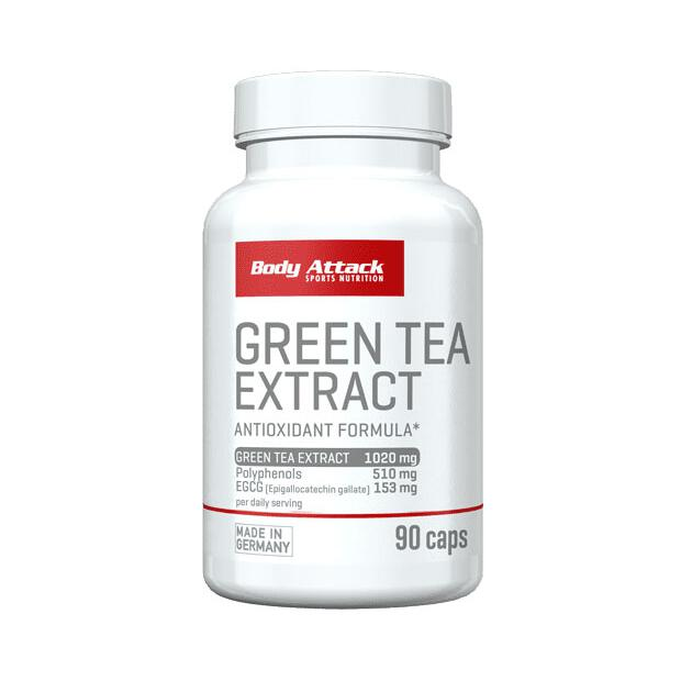 BODY ATTACK Green Tea Extract 90 Caps