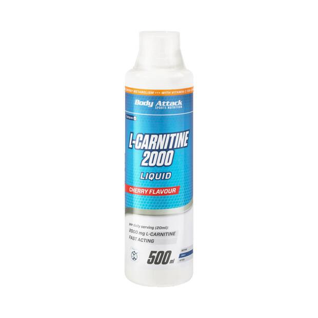 BODY ATTACK L-Carnitine Liquid 2000 500ml