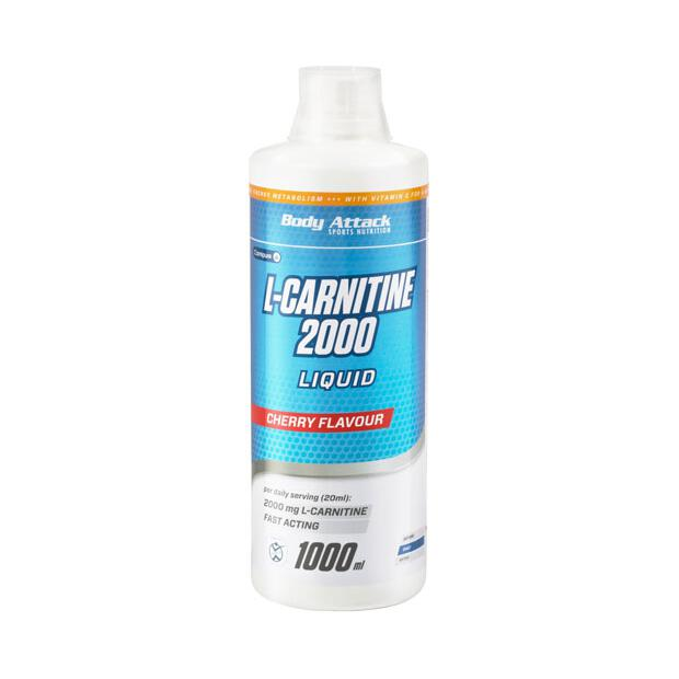 BODY ATTACK L-Carnitine Liquid 2000 1000ml