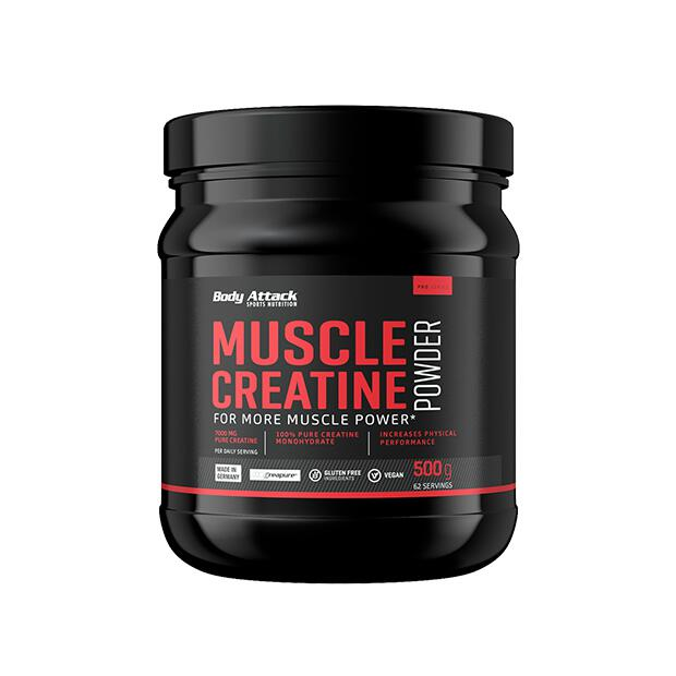 BODY ATTACK Muscle Creatine (Creapure) 500g