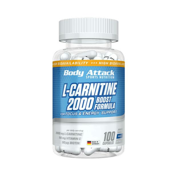 BODY ATTACK L-Carnitine 2000 100 Caps
