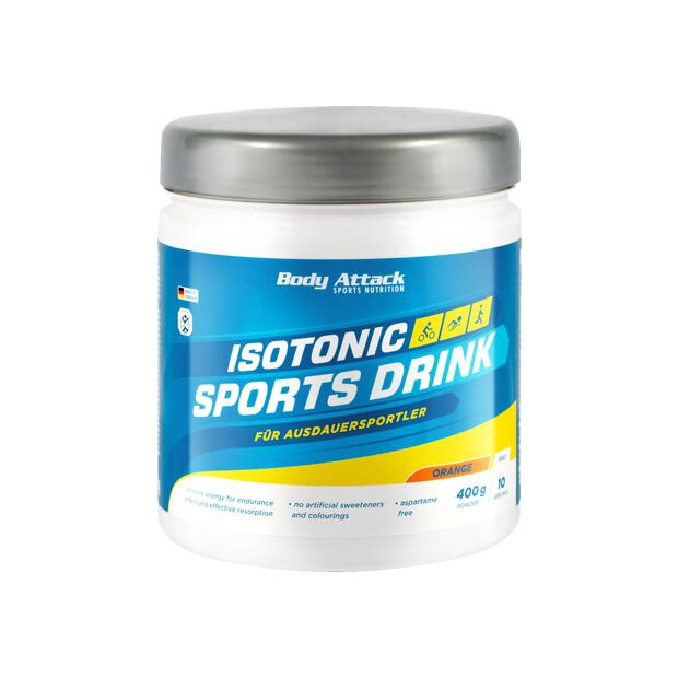 BODY ATTACK Isotonic Sports Drink Powder 400g