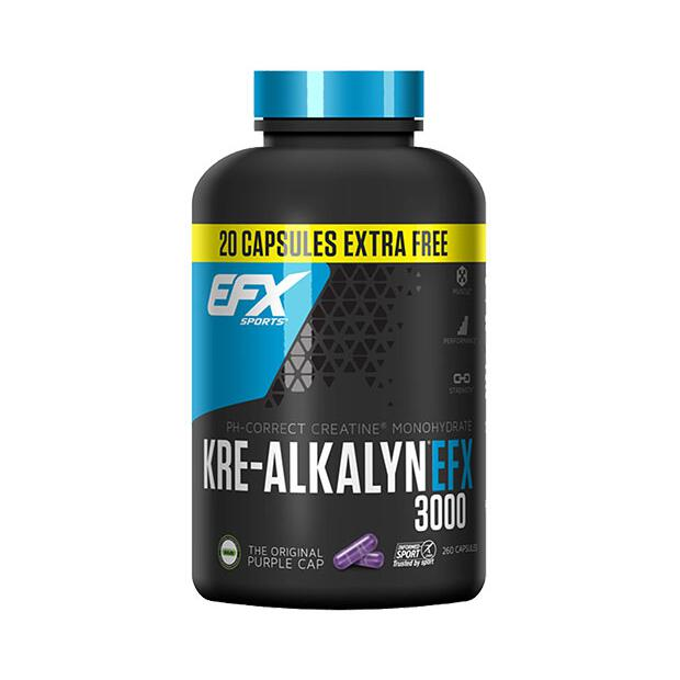 EFX Kre-Alkalyn 3000 260 Caps