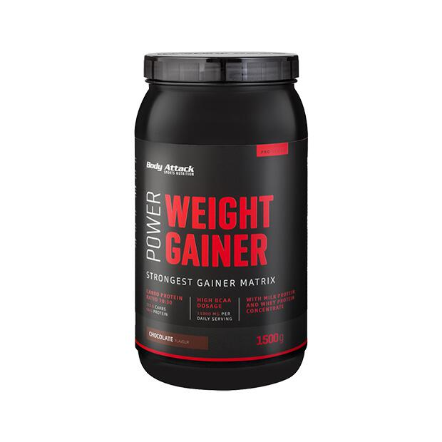 BODY ATTACK Power Weight Gainer 1500g