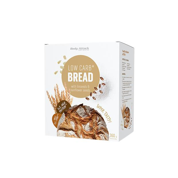 BODY ATTACK Low Carb Bread 360g