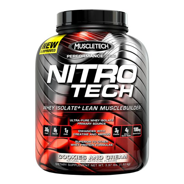 MUSCLETECH NitroTech Performance Series 1800g
