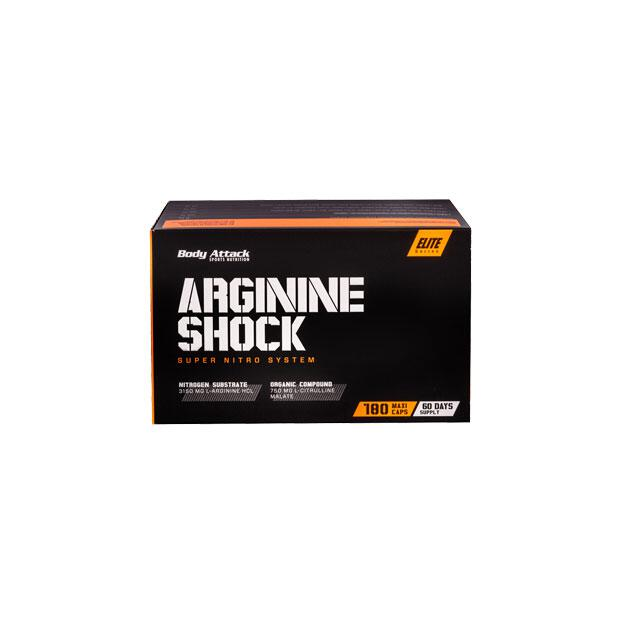 BODY ATTACK Arginine Shock 180 Caps