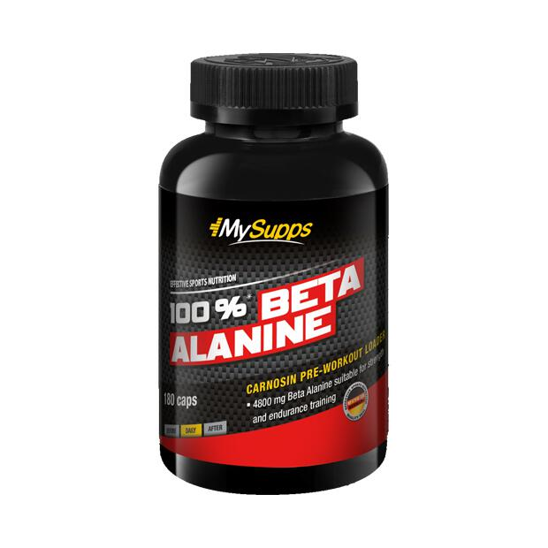 MY SUPPS 100% Beta Alanine 180 Caps