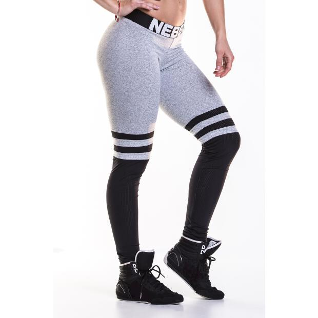 Leggins Over the Knee 286 grey