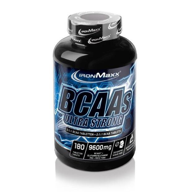 IRONMAXX BCAAs Ultra Strong 180 Tabs