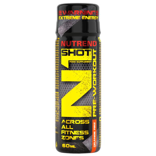 NUTREND N1 Shot Pre Workout Booster 60ml