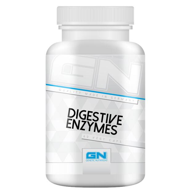 GN Digestive Enzymes 60 Caps