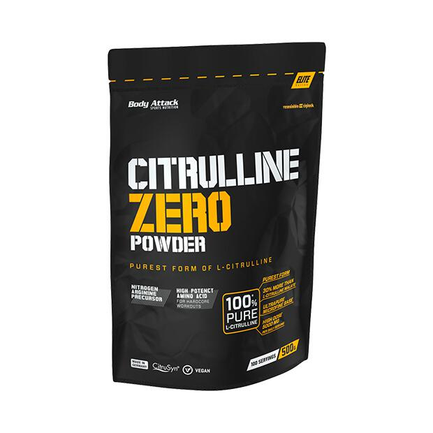 BODY ATTACK Citrulline Zero 500g