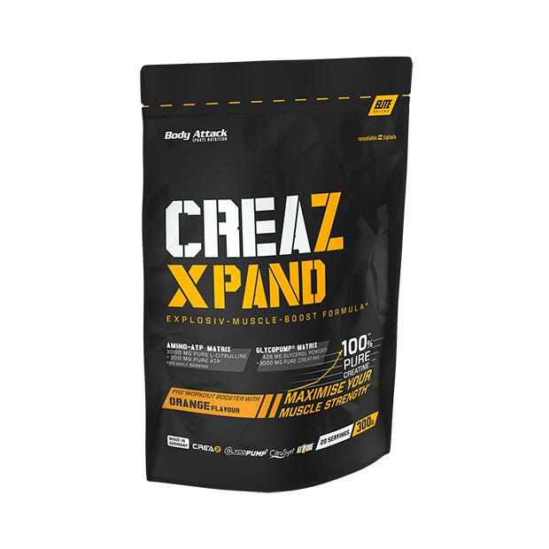 BODY ATTACK CreaZ Expand 300g