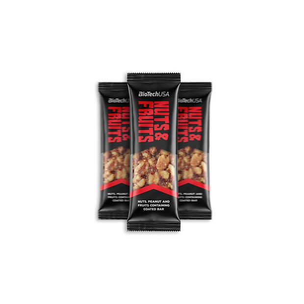 BioTechUSA Nuts & Fruits Bar 40g